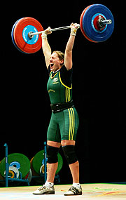 Australia's Deborah Lovely lifting her way to victory