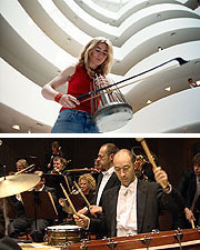 Evelyn Glennie with the Melbourne Symphony Orchestra
