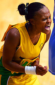 Nthabiseng Moabi of South Africa.